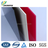 Cast Acrylic / Plexiglass / Perspex Sheet 4mm Black White Red Size and Color Customized