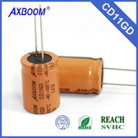 long life 8000~10000H 105C electrolytic capacitor for sale