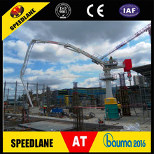 Construction Equipment For Road And Bridge 15m Distribution Radius Concrete Delivery Placing Boom
