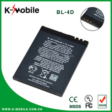High Quality Original Rechargeable Original Mobile Phone BL-4D Battery for Nokia with High Capacity