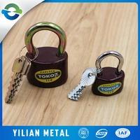 Single open a small padlock Tamper alarm and waterproof padlock Outdoor iron door