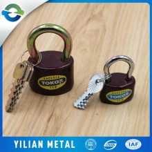 Single open a small padlock Tamper alarm and waterproof padlock Outdoor iron door