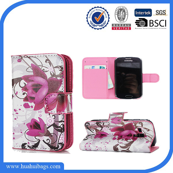 Phone Cover for samsung galaxy trend plus wallet leather case