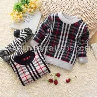 New Baby Wool Sweater Design Cute Boy Top