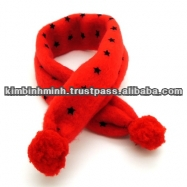 Fleece muffler for Dogs