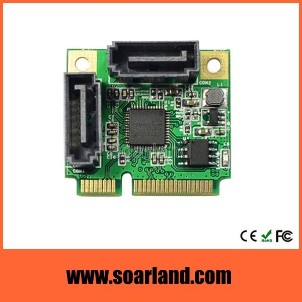 Best Selling mini pcie to sata 3 adapter