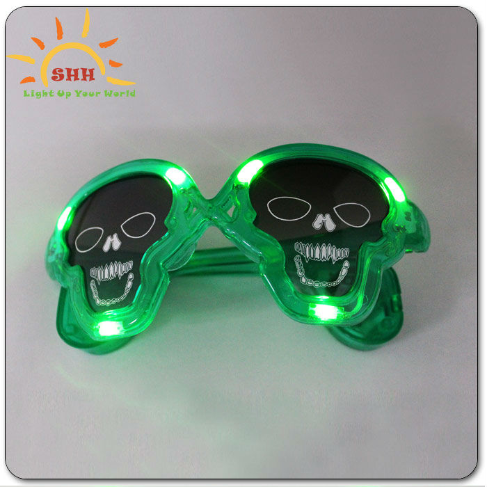 Led sun glasses for man, glow sunglasses glow in the dark, led flashing sunglasses