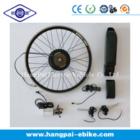 ebike kits down tube battery case powerfull high speed motor 48v500w motor kits