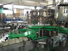 carbonated drink mixing machine/aluminum foil container beer filling machine