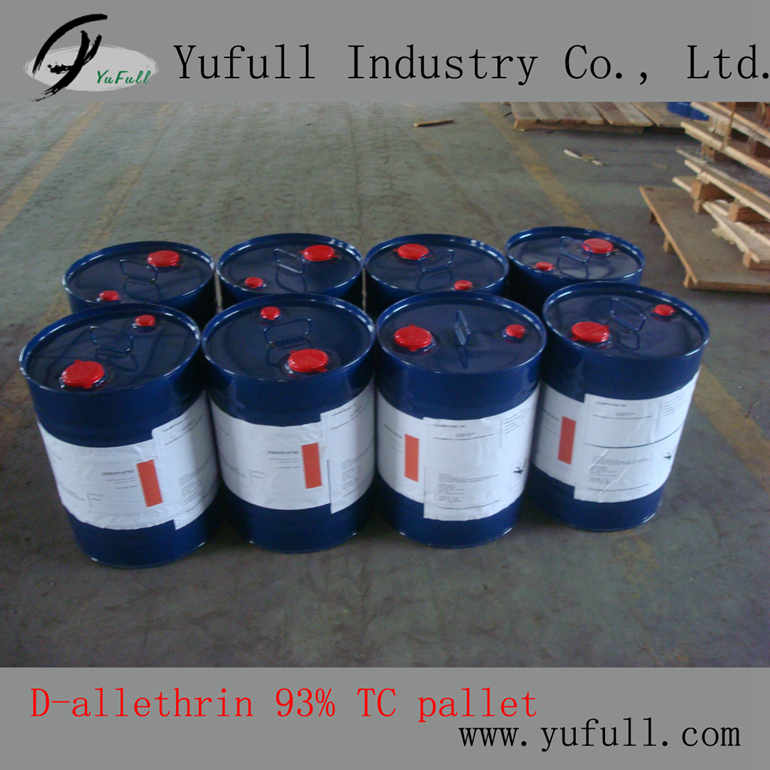 D-allethrin 93% TC, Mosquito Coil Pyrethroid insecticide Manufacturer