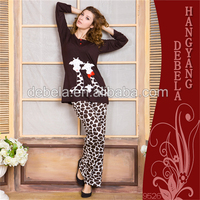 2016 newest long sleeve winter women home wearing clothes