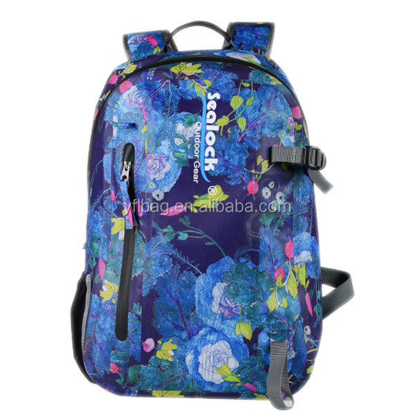 new colour customized waterproof school backpack bag for daily life