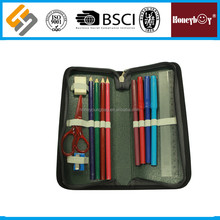 stationery supplier hard case pencil with colored pencil