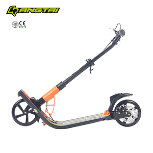2 wheels scooter for adults has disc brake
