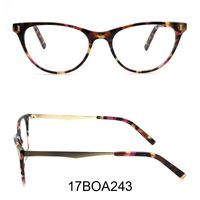 Round Women Anti blue light italian brands adjustable lens innovative designer acetate manufacturers in china optical frame
