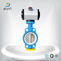Pneumatic Control Angle Seat Fisher 7600 Butterfly Valve Manufacturer