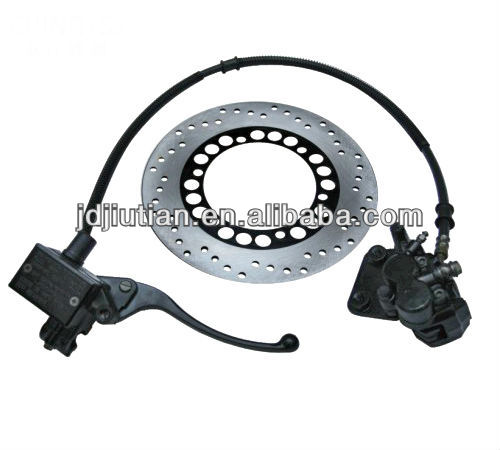 motorcycle rear hub with disc brake