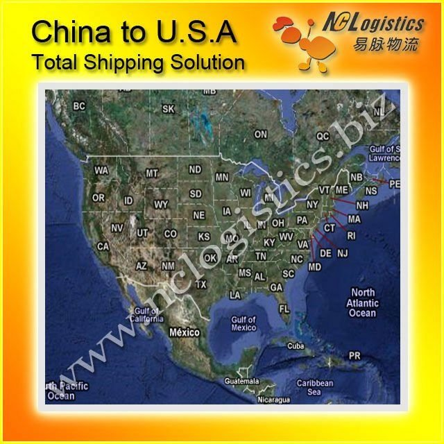sea freight service to Jacksonville,USA home delivery