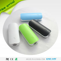 July New Arrival ALD-P25 Portable Strong Flashlight li-ion mobile phone 5200mah power bank external battery pack