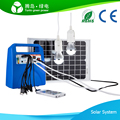 2016 10W 7Ah DC solar kit solar power system with MP3 player and radio,10 in 1 mobile phone charger