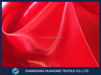 100% Polyester satin curtains fabric with good quality and competitive price