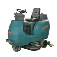 C350B small floor scrubber cleaning machine, floor washing scrubber