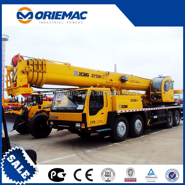 XCMG 50 Ton hot sell mobile Truck Crane QY50