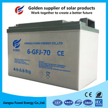 Manufacturer UPS sealed lead acid battery, 12V70Ah, 3 years replacement