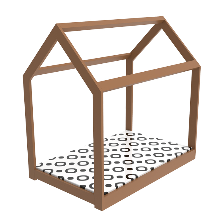 Play House Hot <strong>Selling</strong> Cheaper Simple Design Wood Toddler Bed