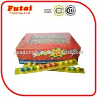 20g Boxed ball shape bubble gum products