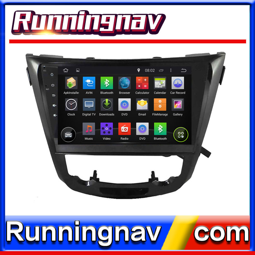 AUTO RADIO DVD For NISSAN QASHQAI X-TRAIL ROGUE 2015 STEERING WHEEL CONTROL FRONT DVR CAPACTIVE SCREEN