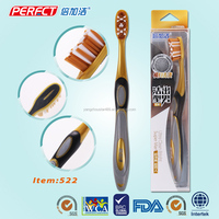 disposable finger foam mini toothbrush for adults