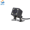 4 LED light night vision reverse camera DC 12V car back up camera