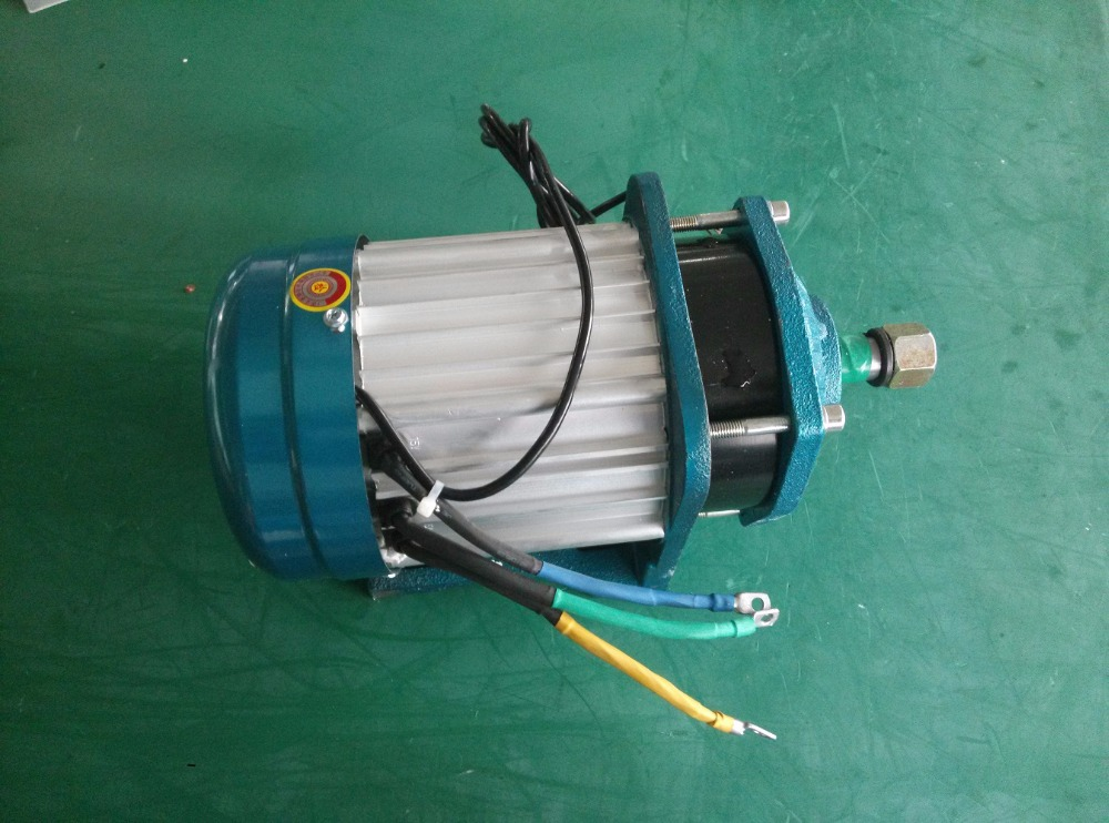 60v 1000w electric car brushless dc motor