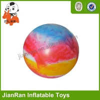 Eco-friendly PVC cloudy water ball for kids