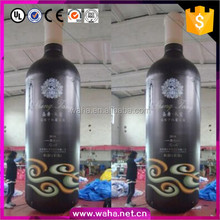 inflatable red wine bottle, advertising models for promotion