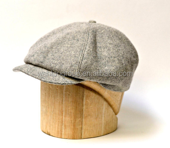 Modern Personalized Youth Newsboy Cap Hat