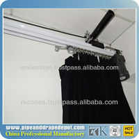 2013 RK best price curtain motor with reomte control motorized curtain rail