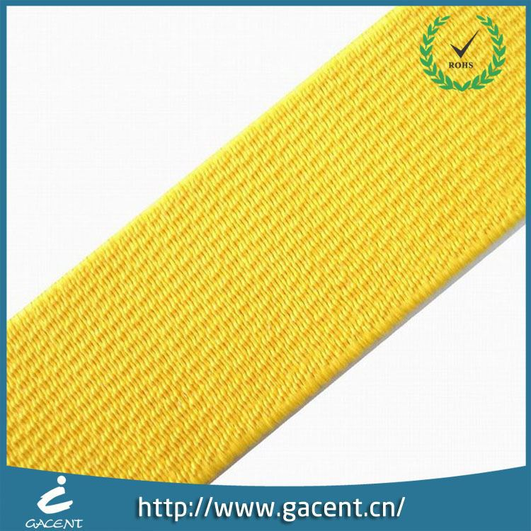 Top Grade Wide Elastic Webbing For Safety Belt,Belt Elastic Ribbed
