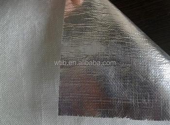 Rockwool heat insulation aluminum foil fiberglass cloth for Is fiberglass insulation fire resistant