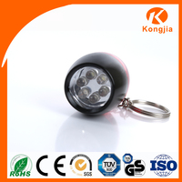 Keychain 6 LED Aluminum Flashlight