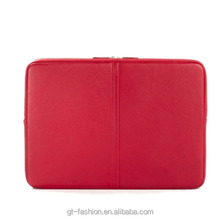 Wholesale High Quality Soft Leather Travel ZipTablet Sleeve Case (L781)