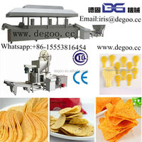 Automatic chips snacks food fat frying machine CE certificate