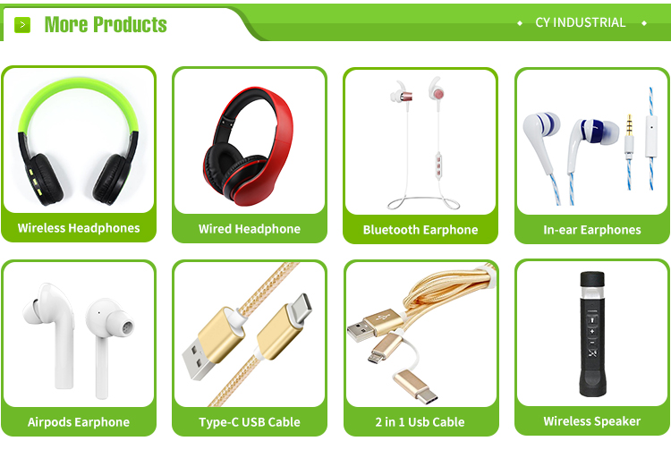 Wireless Earphones with Microphone Foldable Headphone with 3.5mm Audio Cable