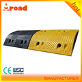 Heavy Loading Capacity 1000*350*70 MM Road Rubber Speed Bump