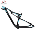 Super Light Weight 142*12mm Alex full suspension mountain bike frame 29er Colorful Paint mtb frame carbon 29