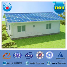 China supplier one-bedroom prefabricated mobile homes