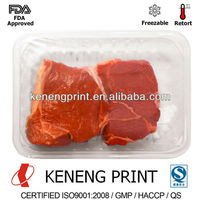PET Plastic Tray and Cup Sealing Film/Lidding Film