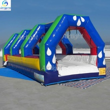 Airtight inflatable slide and slip Commercial blower included PVC inflatable surf slide