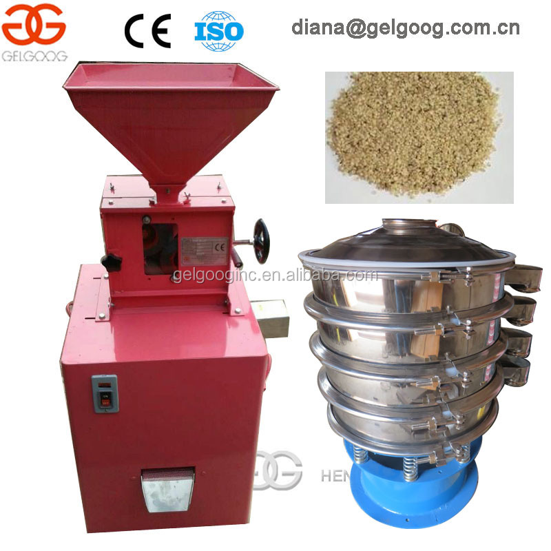 hemp seed dehulling machine